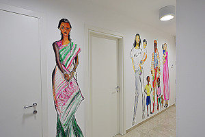 Murals by Caterina Borghi