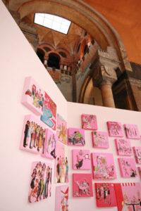 """""""Favola Rosa"""", 2007, Loggia degli Artisti, Mantova"""