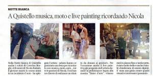 Articolo da Gazzetta di Mantova - Motor Beer Fest di Quistello 2015