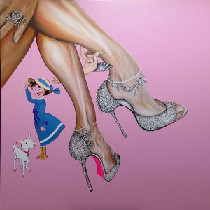 """Cinderella"" Painting by Caterina Borghi"