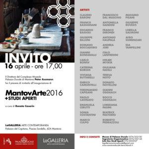 Invito MantovArte 2016
