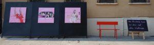 LaPiccolaParigi 2019, Per dire NO alla violenza, Art Installation