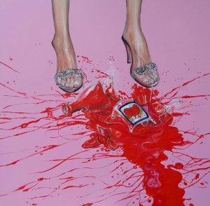 """""""Cirio"""" Painting by Caterina Borghi"""
