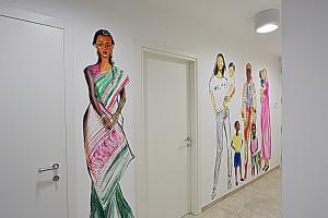 Murals by Caterina Borghi