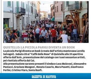 La Piccola Parigi su Gazzetta di Mantova