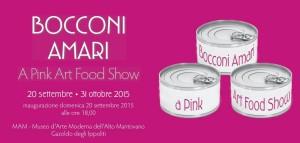 Bocconi Amari - A Pink Art Food Show