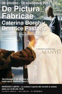 """Vernissage """"De Pictura Fabricae"""" con Caterina Borghi"""
