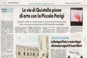 La Piccola Parigi 2019, articolo dalla Voce di Mantova