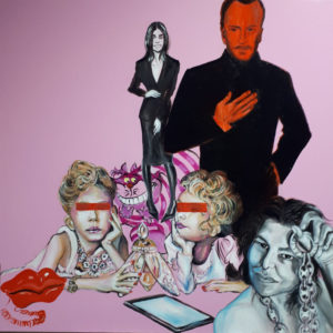 """""""Cadeaux"""" Painting by Caterina Borghi"""