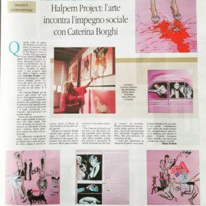 The Halpern Project articolo da La Voce di Mantova