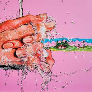 """Mani Pulite... per UNMONDODIFAVOLA"" Painting by Caterina Borghi"