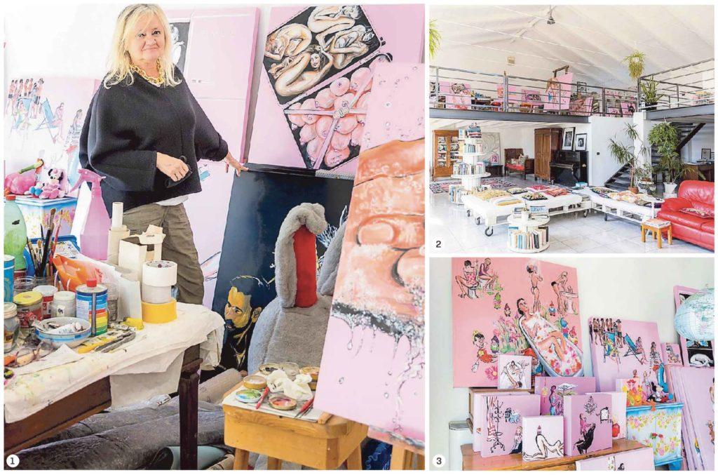 Caterina Borghi immagini del loft dell'arte
