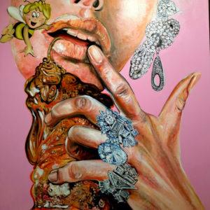 """Ape... Vita"" Painting by Caterina Borghi"